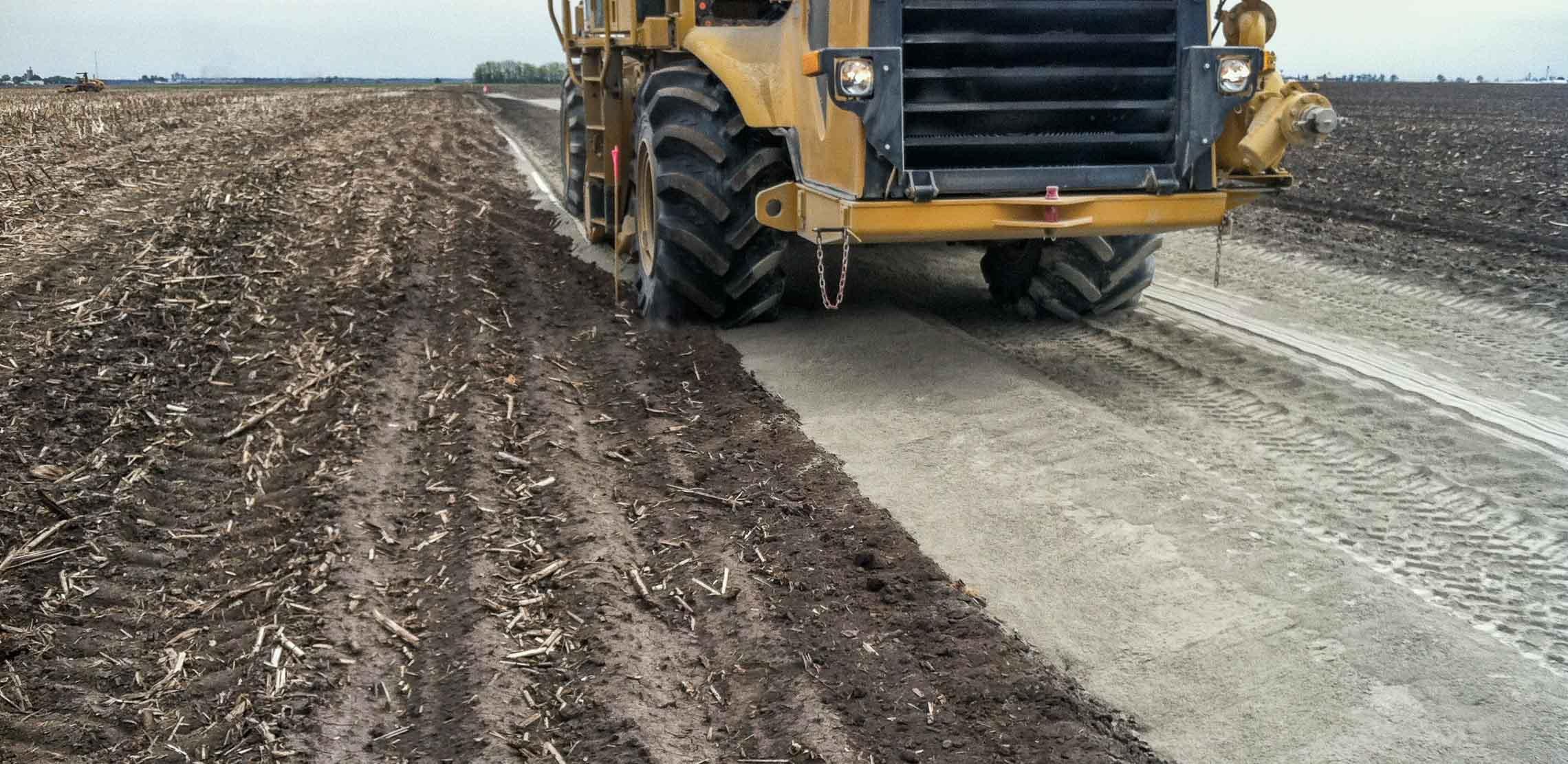 Soil stabilization rock solid stabilization reclamation for Soil stabilization