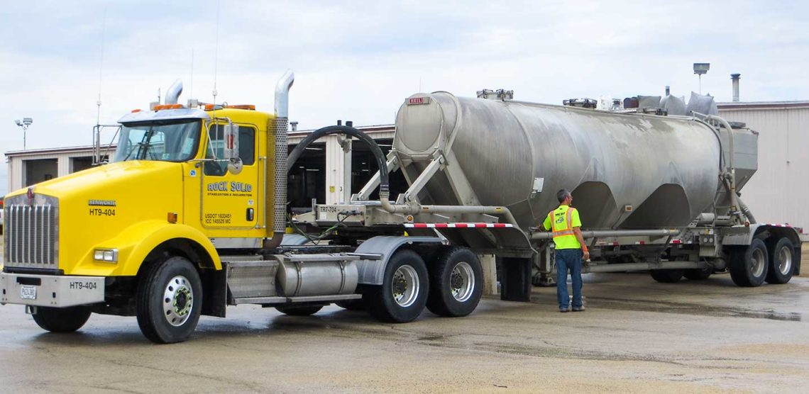Dry Bulk Trucking