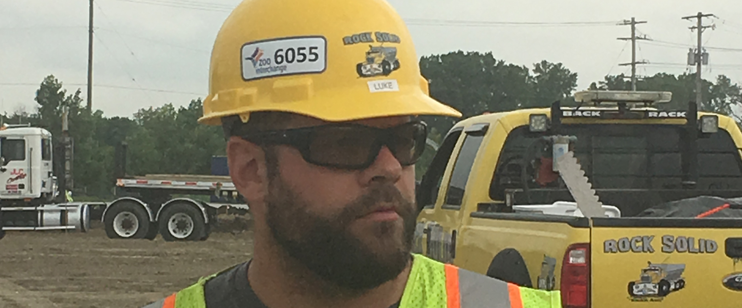 Safety Manager Luke Rossman